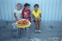 Children selling fruits, Sulina